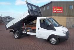 FORD TRANSIT - 2013 - T350 125ps SINGLE CAB TIPPER<br>- 20,000 MILES  FSH- AIR CON - TOP SPEC
