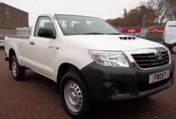 TOYOTA HILUX ACTIVE SINGLE CAB 4X4
