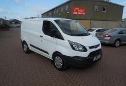 FORD TRANSIT CUSTOM - SWB L1 H1 - 53,000 miles - ONE OWNER - FSH - EXCELLENT CONDITION