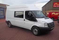 FORD TRANSIT - CREW VAN 9 SEATER<br>+ LOAD AREA