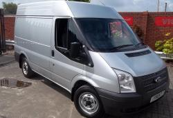 13-FORD TRANSIT 300 SWB 100PS<br>MEDIUM ROOF- SILVER