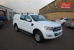 FORD RANGER - 2017 - XLT MODEL - DOUBLE CAB - FSH - 4x4 - AIR CON