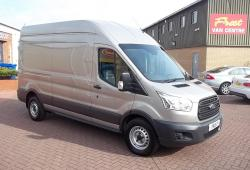 FORD TRANSIT 2016 - L3 H3 125PS - AIR CON + HEATED SEATS - ONE OWNER - FSH - TECTONIC SILVER
