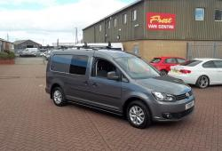 VOLKSWAGEN CADDY MAXI HIGHLINE SPEC - 5 SEAT - AIR CON - TAILGATE