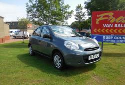 NISSAN MICRA 2011 / 61 - VISIA 5 DOOR -<br>54,000 MILES - FSH - OWNED BY US SINCE 2014