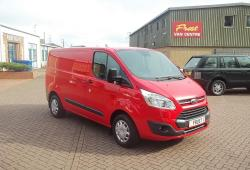 FORD TRANSIT CUSTOM 2017 - 45,000 MILES - ONE OWNER - TREND - L1 H1 SWB - IMMACULATE