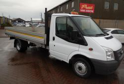 FORD TRANSIT DROPSIDE EX LWB 125PS 13FT 6IN BODY