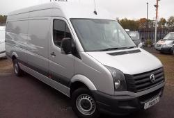 65-VW CRAFTER LWB 163PS<br>35-163 LWB SILVER, NAV,CRUISE,9,000 miles