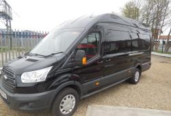 FORD TRANSIT L4 JUMBO<br>TREND 125PS BLACK