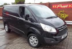 64-FORD TRANSIT SWB CUSTOM LIMITED 155PS<br>290-155 LIMITED 155PS