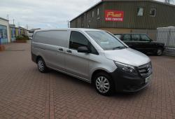 MERCEDES VITO 2016 LWB - SILVER -<br>ONE OWNER - 67,000m - GREAT SPEC