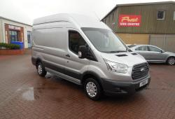 FORD TRANSIT 2016 - MWB L2 H3 - 37,000m<br>- SILVER - TREND - ONE OWNER FSH - SUPERB!