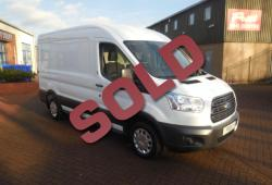 FORD TRANSIT 2016 / 66 - L2 H2 MWB - ONE OWNER - FFSH - TREND - 125ps - CRUISE CONTROL