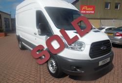 FORD TRANSIT 2016 - L3 H3 - ONE OWNER - 125ps + 6 SPEED - EXCELLENT CONDITION - 87,000m