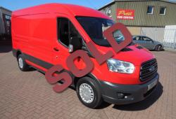 FORD TRANSIT L3 H2 LWB - TREND - RACE RED - ONE OWNER - GREAT SPEC - 125PS