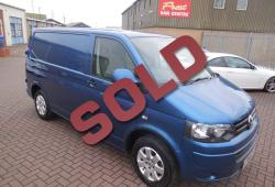 VOLKSWAGEN TRANSPORTER 2011 T5 GP - AIR CON - NO VAT - 140ps 6 SPEED - 70,000m - OLYMPIC PEARL