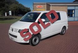 VOLKSWAGEN TRANSPORTER T5 2011 - FSH - SWB - NO VAT - COLOUR CODED + WINDOW