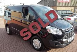FORD TRANSIT CUSTOM - TREND - 125PS - METALLIC BLACK - 59,000m