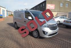 VAUXHALL VIVARO 2016 - SPORTIVE L1 - FSH - ONE OWNER - TRULY IMMACULATE CONDITION - AIR CON