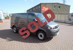 VOLKSWAGEN TRANSPORTER T5 GP - AIR CON - TAILGATE - METALLIC GREY - SWB