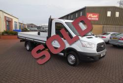 FORD TRANSIT 2015 - 350 DROPSIDE PICKUP - ONE OWNER - 125ps - LWB 13 FT 8 INCH BODY