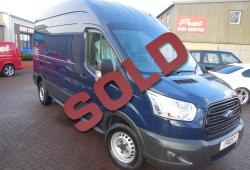 FORD TRANSIT - L3 H3 - 63,000 MILES- 125PS FRONT WHEEL DRIVE