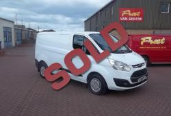 FORD TRANSIT CUSTOM - SWB - 2015 - TREND - IMMACULATE EXAMPLE - 50,000m