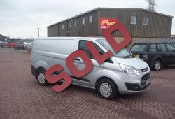 FORD TRANSIT CUSTOM 125ps - 2013 - SWB - TREND - ONE OWNER - FSH