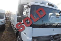 MERCEDES ATEGO 816 24FT 4.8M WB BOX