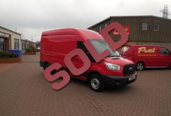 FORD TRANSIT 2016 - L3 H3 - RACE RED - AIR CON - FWD - FFSH - 50,000m