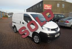 NISSAN NV200 - 2018 - TWIN SIDE DOORS - NO VAT - 24,000m - ONE OWNER - FSH