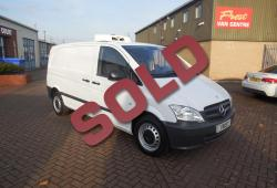 MERCEDES VITO 113 - GAH FRIDGE / CHILLER - 58,000m - ONE OWNER - FSH - NO VAT