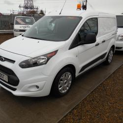FORD TRANSIT CONNECT - 2017 L1 H1 - 7,400 MILES - RARE PETROL ENGINE - TREND SPEC