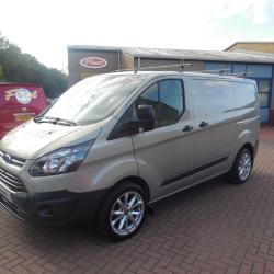 FORD TRANSIT CUSTOM - 2015 - AIR CON - 155ps - WOLFRACE ALLOYS - FFSH - 68,000m