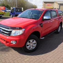 FORD RANGER 2013 XLT - 4x4 - DOUBLE CAB + TRUCKMAN TOP - EXCELLENT CONDITION - 47,000 MILES - 150ps