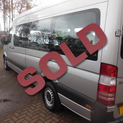 Mercedes Sprinter 17 seat WAV Traveliner Coach