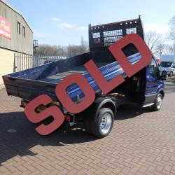 2016 FORD TRANSIT TIPPER 350 - 125PS - DEEP IMPACT BLUE METALLIC