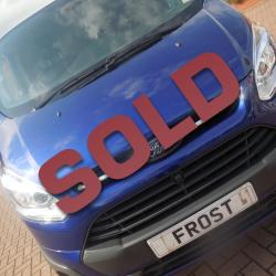 FORD TRANSIT CUSTOM - L1 H1 - 2014 / 64 - TREND - DEEP IMPACT BLUE - 125ps - ONE OWNER