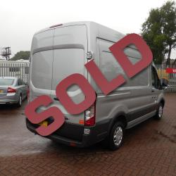 FORD TRANSIT 2016 - MWB L2 H3 - 37,000m - SILVER - TREND - ONE OWNER FSH - SUPERB!