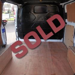FORD TRANSIT CUSTOM 2014 / 64 - L1 H2 - SWB HIGH ROOF - ONE OWNER - TWIN SIDE DOORS