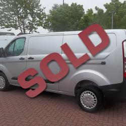 FORD TRANSIT CUSTOM - 2014 / 64 - HUGE SPEC TREND - SILVER - LWB - FULL FORD HISTORY