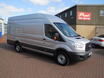 FORD TRANSIT 2016 / 66 - 350 125ps - L4 H3 JUMBO - FSH - ONE OWNER - SILVER