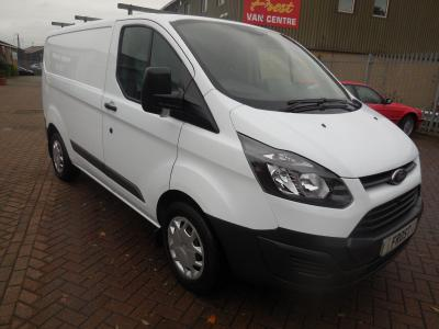 FORD TRANSIT CUSTOM - 2015 - L1 H1 - ONE OWNER - FSH - VERY GOOD CONDITION