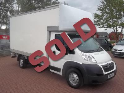 CITROEN RELAY LUTON - 2014 - ONE OWNER - 4 METRE BODY - LOW MILEAGE