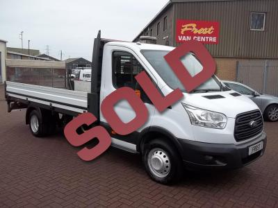 16-FORD TRANSIT 350 DROPSIDE EXLWB 14FT /4.2M BODY/AIRCON